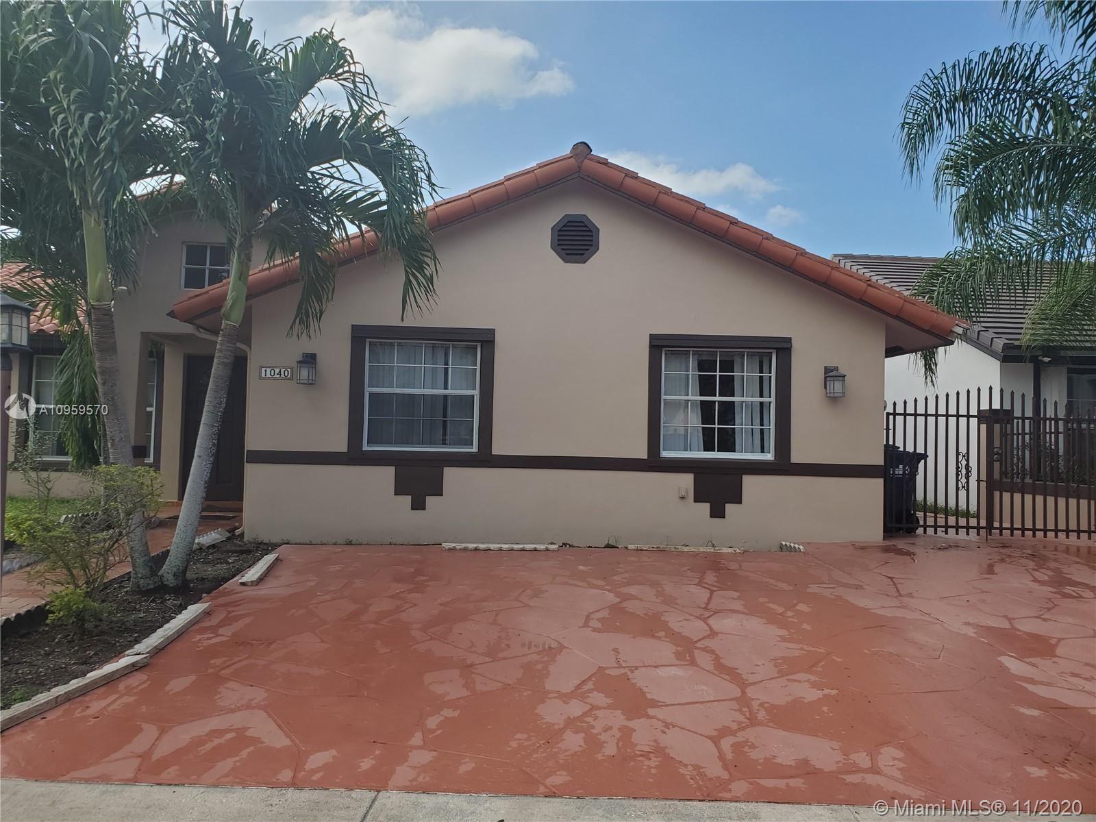 1040 NW 134th Ave, Miami, FL 33182 - #: A10959570