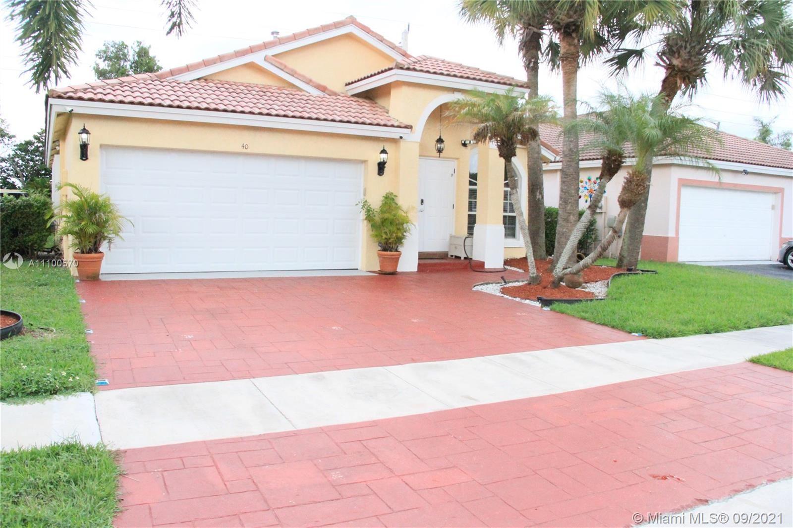 40 Gables Blvd, Weston, FL 33326 - #: A11100570