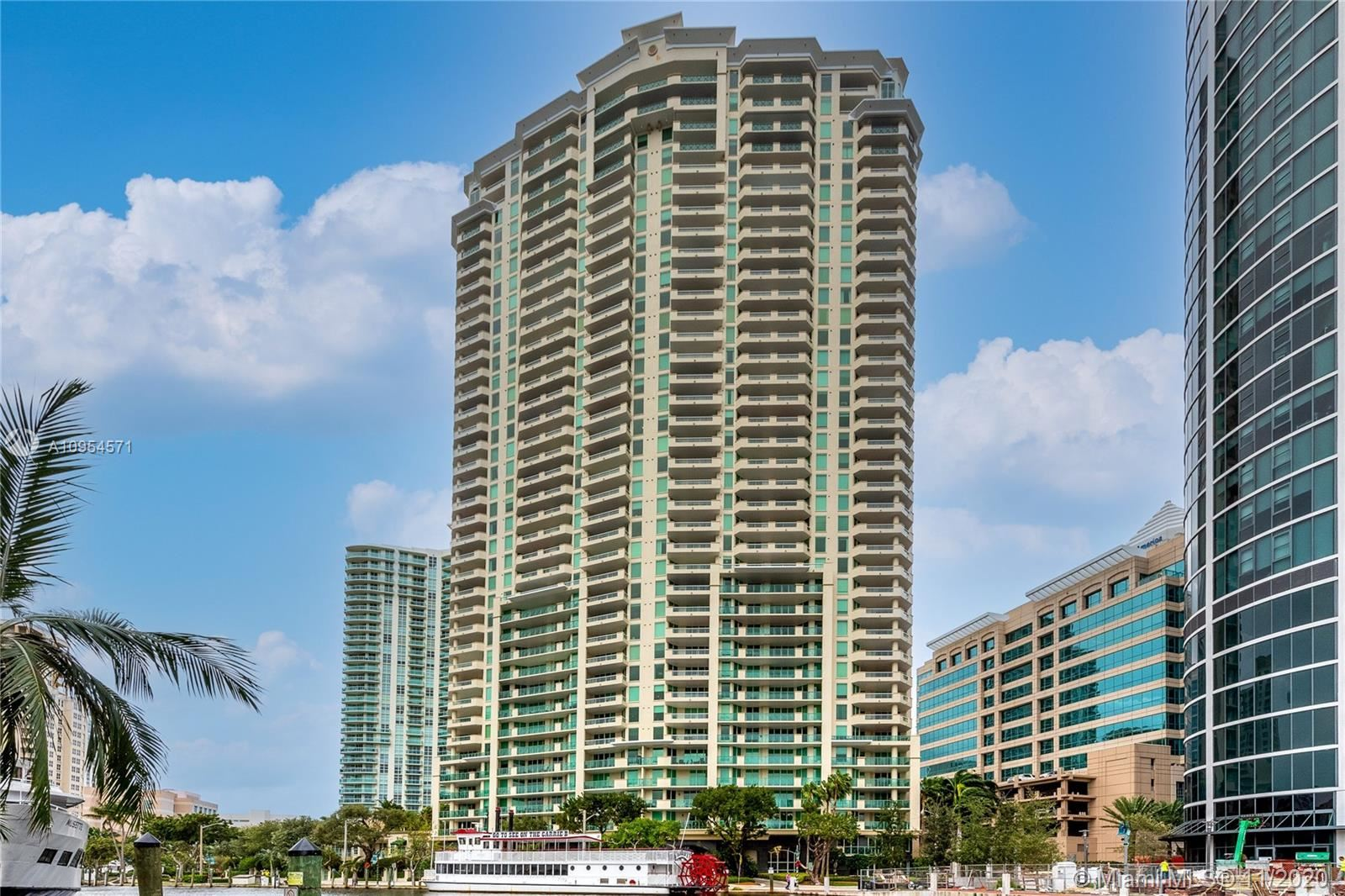 Photo of 411 N New River Dr E #3601, Fort Lauderdale, FL 33301 (MLS # A10954571)