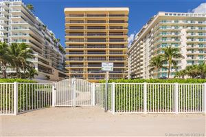 Photo of 9455 Collins Ave #706, Surfside, FL 33154 (MLS # A10639572)
