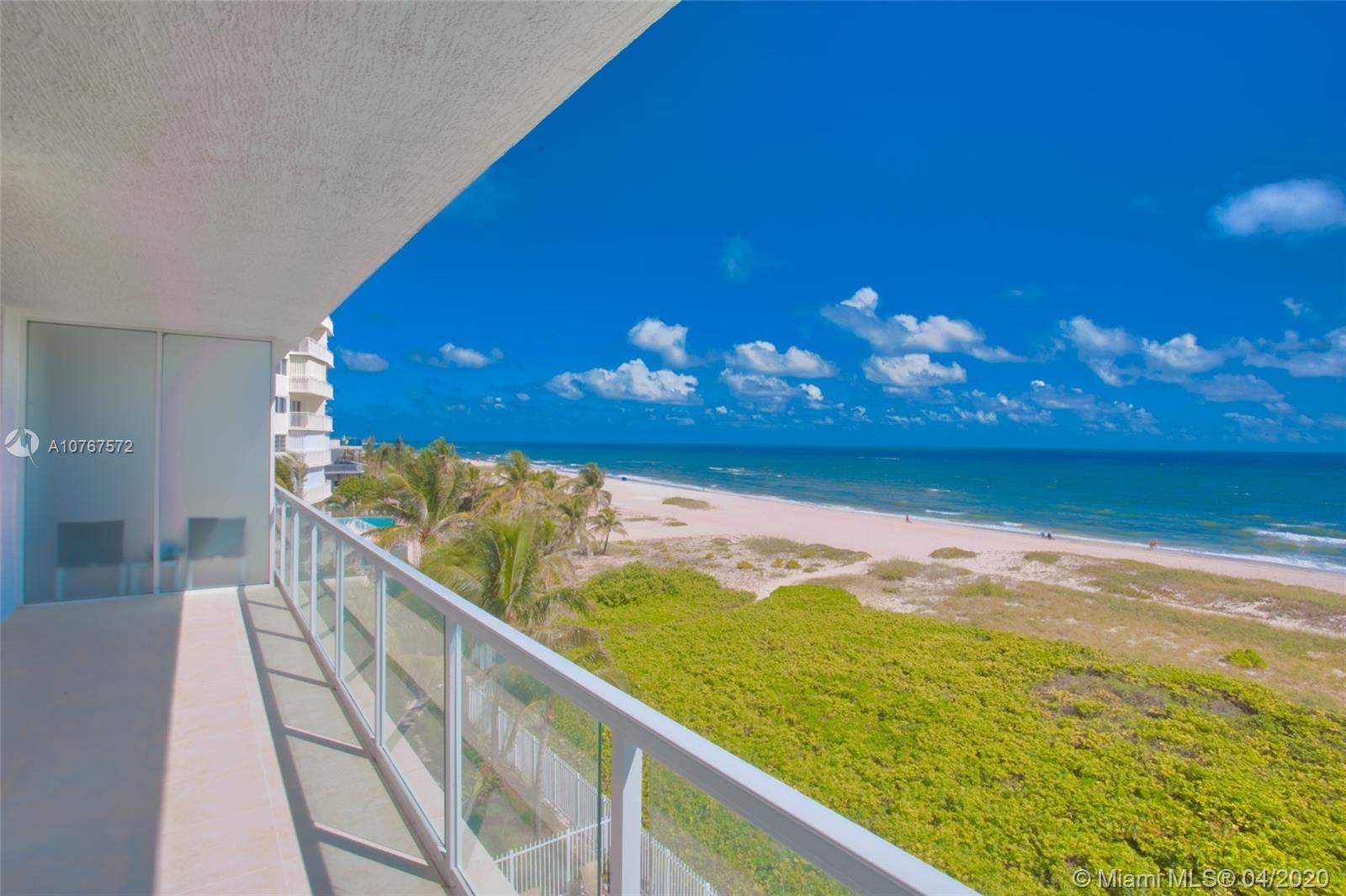 704 N Ocean Blvd #502, Pompano Beach, FL 33062 - #: A10767572