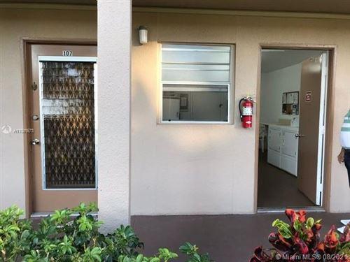 Photo of 251 SW 134th Way #107M, Pembroke Pines, FL 33027 (MLS # A11091573)