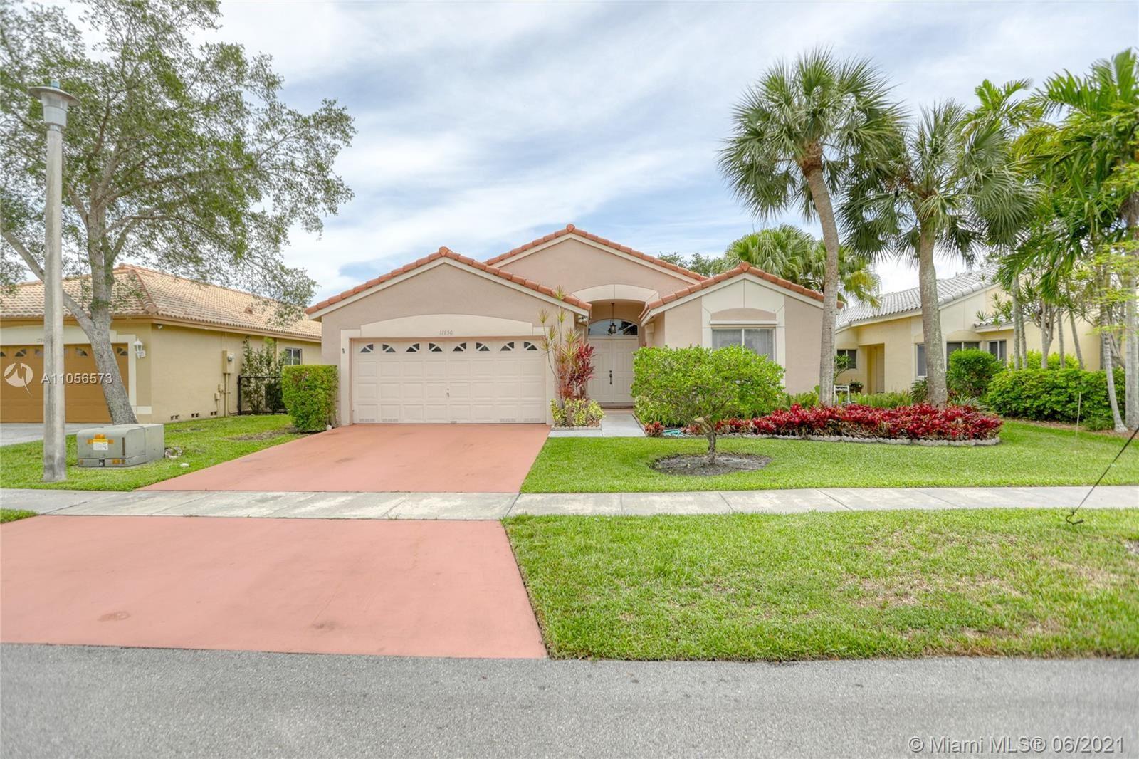 17850 NW 19th St, Pembroke Pines, FL 33029 - #: A11056573