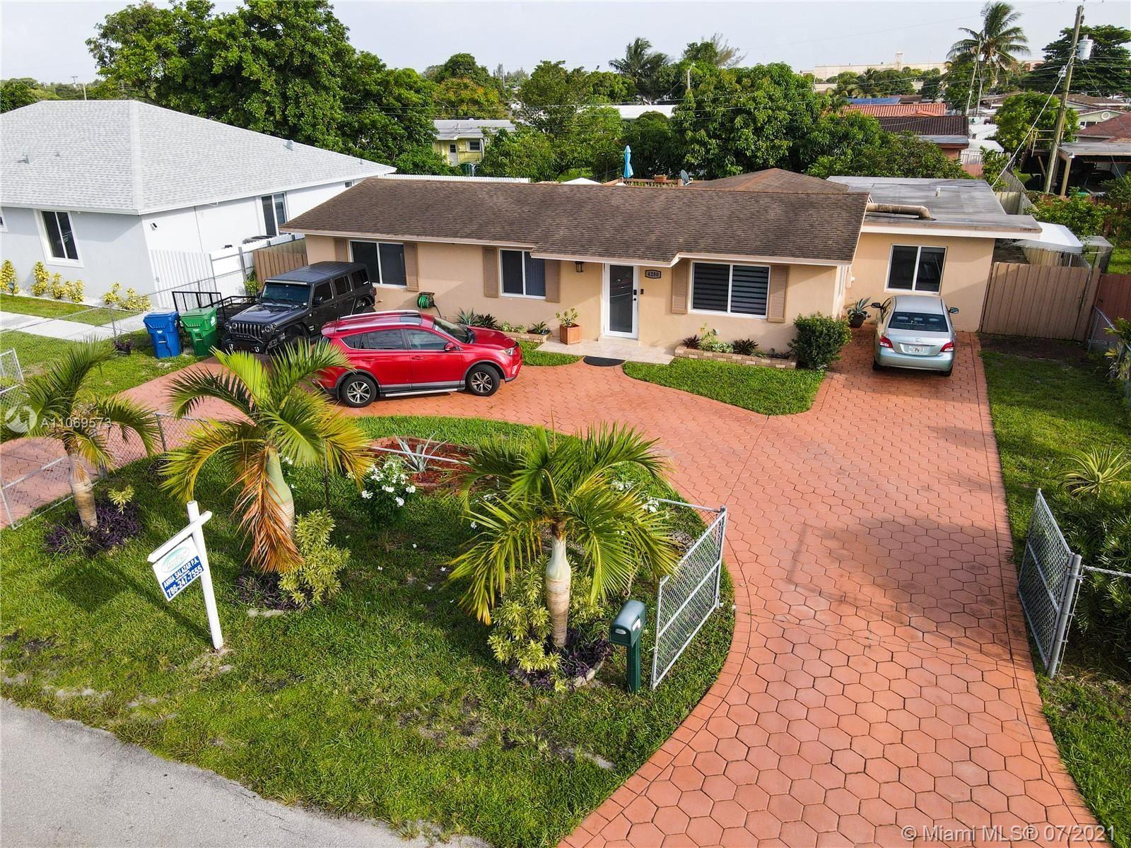 4280 NW 171st St, Miami Gardens, FL 33055 - #: A11069573