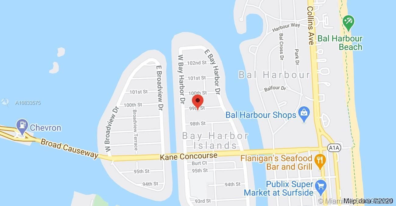 1140 99th St #22, Bay Harbor Islands, FL 33154 - #: A10833575