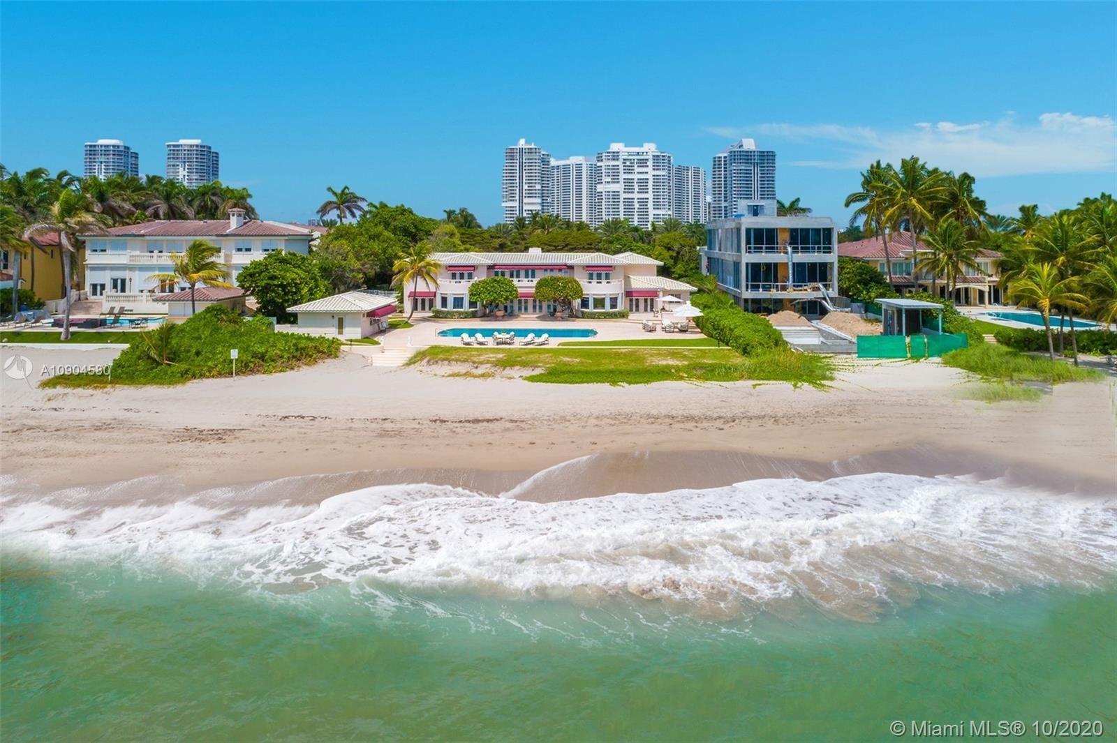 Photo of 577 Ocean Blvd, Golden Beach, FL 33160 (MLS # A10904580)