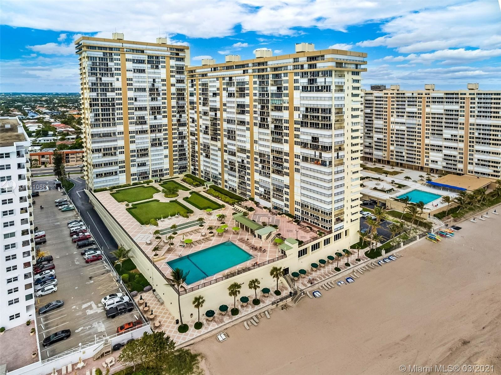 Photo of 4280 Galt Ocean Dr #5F, Fort Lauderdale, FL 33308 (MLS # A11010581)
