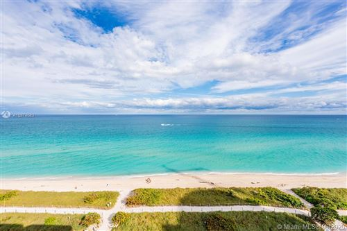 Photo of 8777 Collins Ave #PH-A, Surfside, FL 33154 (MLS # A10874583)