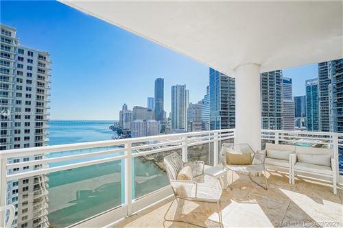 Photo of 901 Brickell Key Blvd #2204, Miami, FL 33131 (MLS # A10999585)