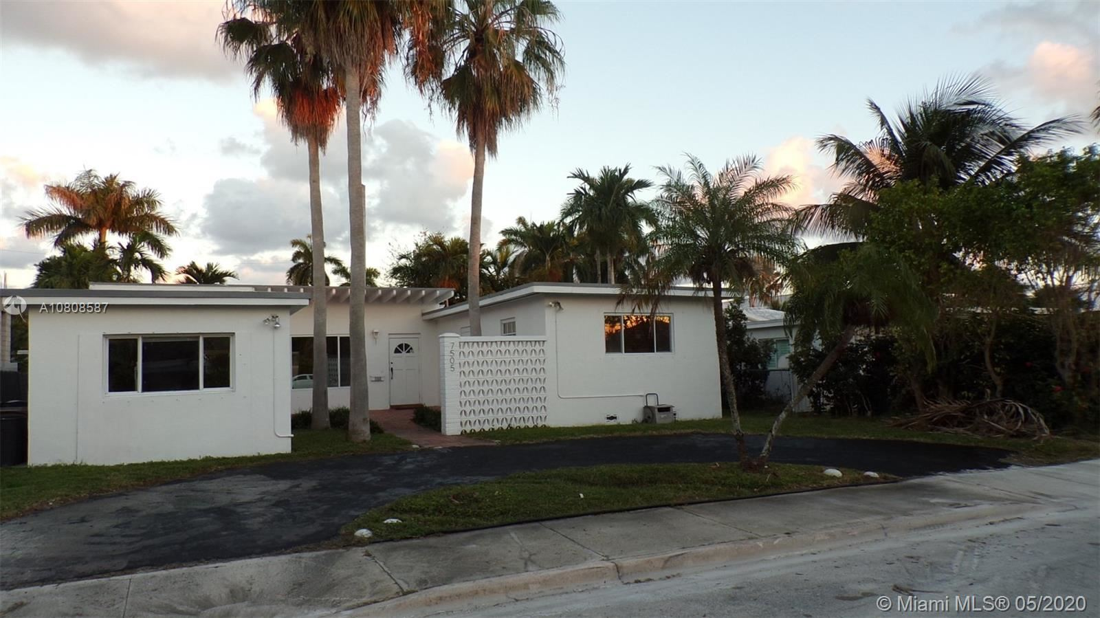 7505 Adventure Ave, North Bay Village, FL 33141 - #: A10808587
