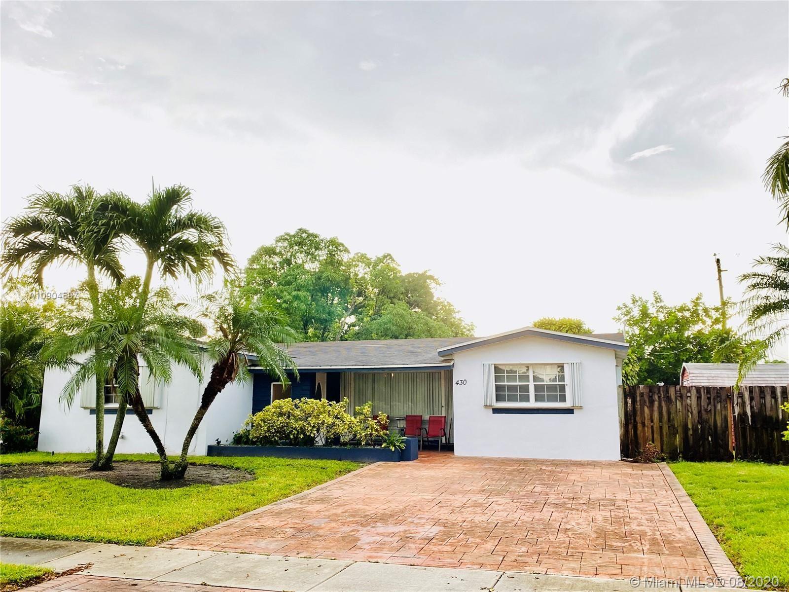 430 SW 70th Ave, Pembroke Pines, FL 33023 - #: A10904587
