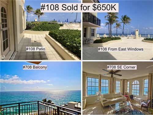 Photo of 3475 S Ocean Blvd #708, Palm Beach, FL 33480 (MLS # A10996590)