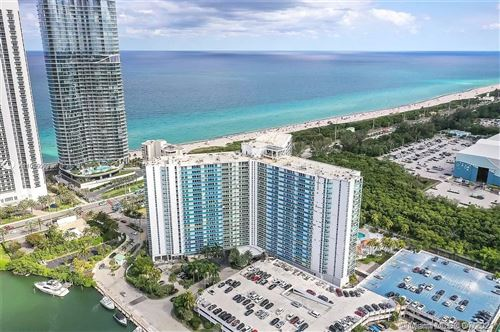 Photo of 100 Bayview Dr #718, Sunny Isles Beach, FL 33160 (MLS # A11069592)