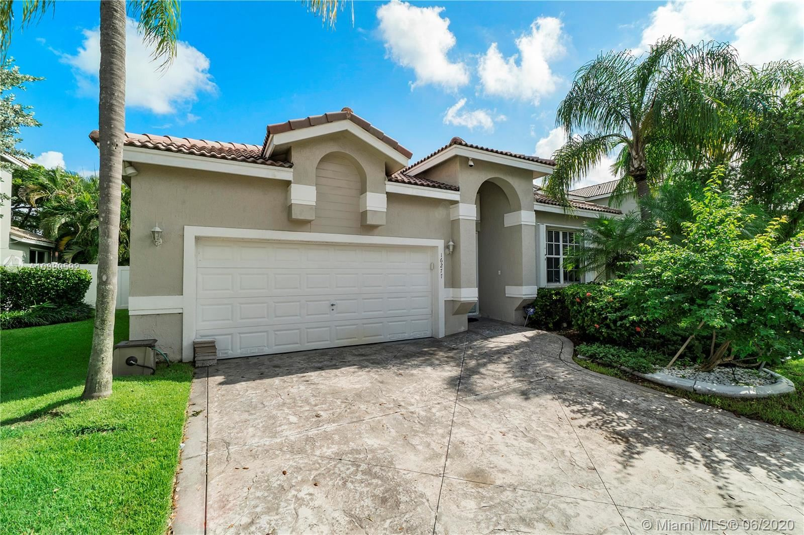 16277 NW 20th St, Pembroke Pines, FL 33028 - #: A10880592