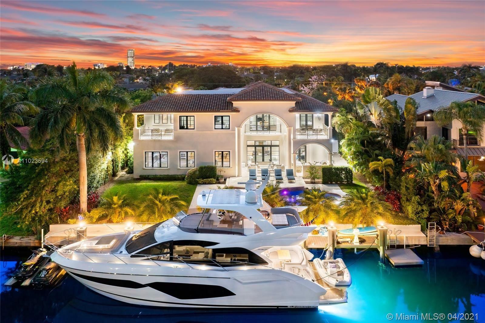 Photo of 631 Hibiscus Dr, Hallandale Beach, FL 33009 (MLS # A11023594)
