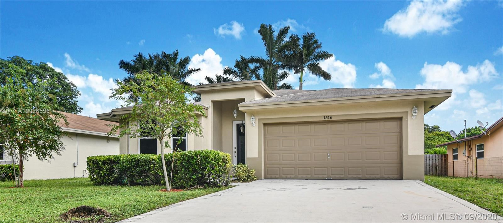 1516 SW 29th Ter, Fort Lauderdale, FL 33312 - #: A10926596