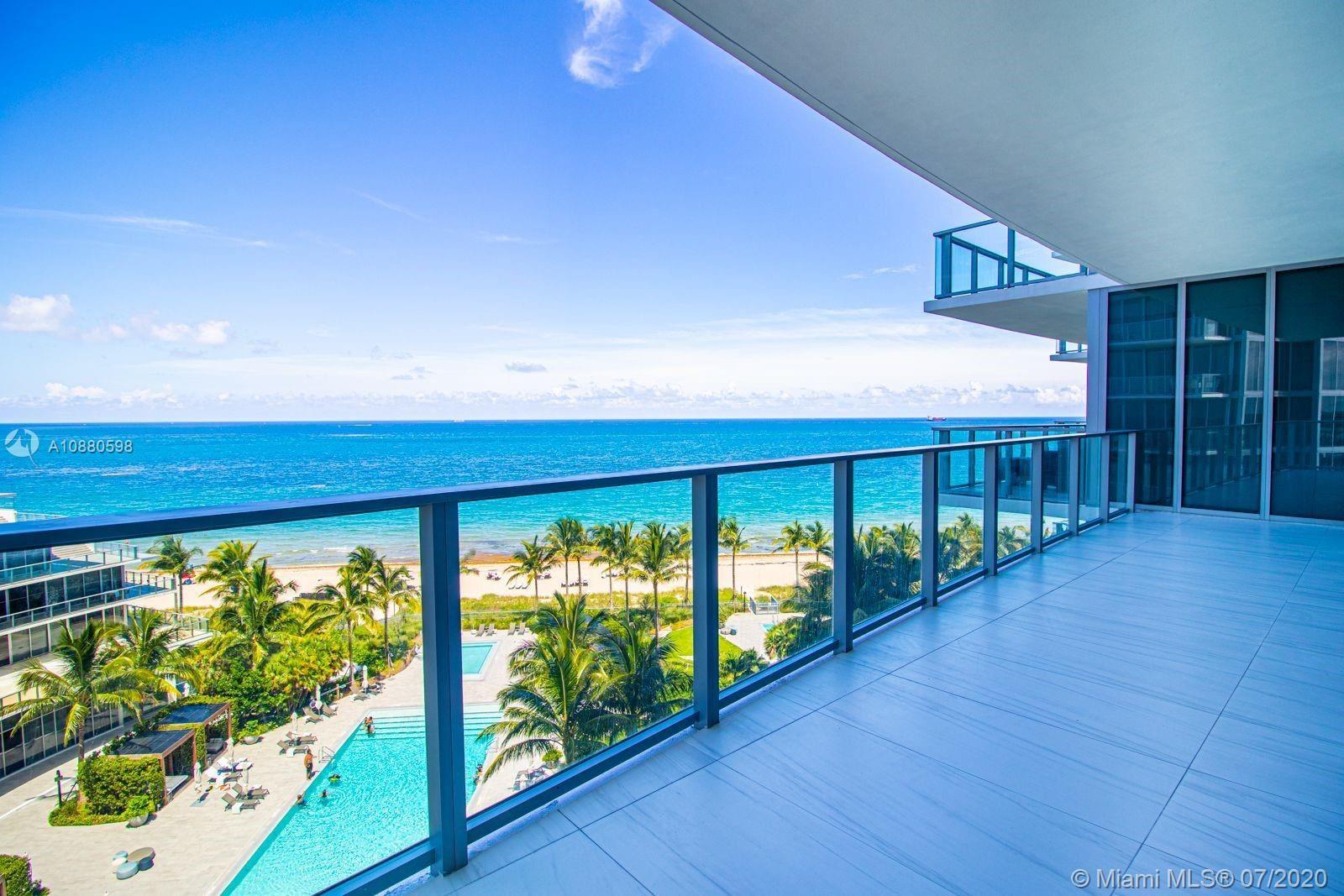 Photo of 2200 N Ocean Blvd #S705, Fort Lauderdale, FL 33305 (MLS # A10880598)