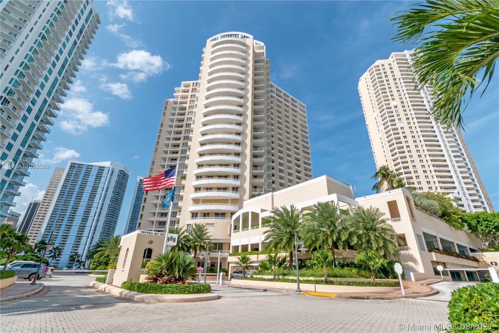 888 Brickell Key Dr #1207, Miami, FL 33131 - #: A11093599