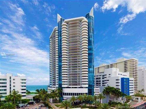 Photo of 6301 Collins Ave #2502, Miami Beach, FL 33141 (MLS # A10950603)