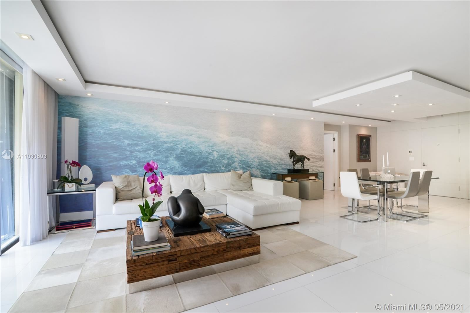 Photo of 9801 Collins Ave #19J, Bal Harbour, FL 33154 (MLS # A11030603)