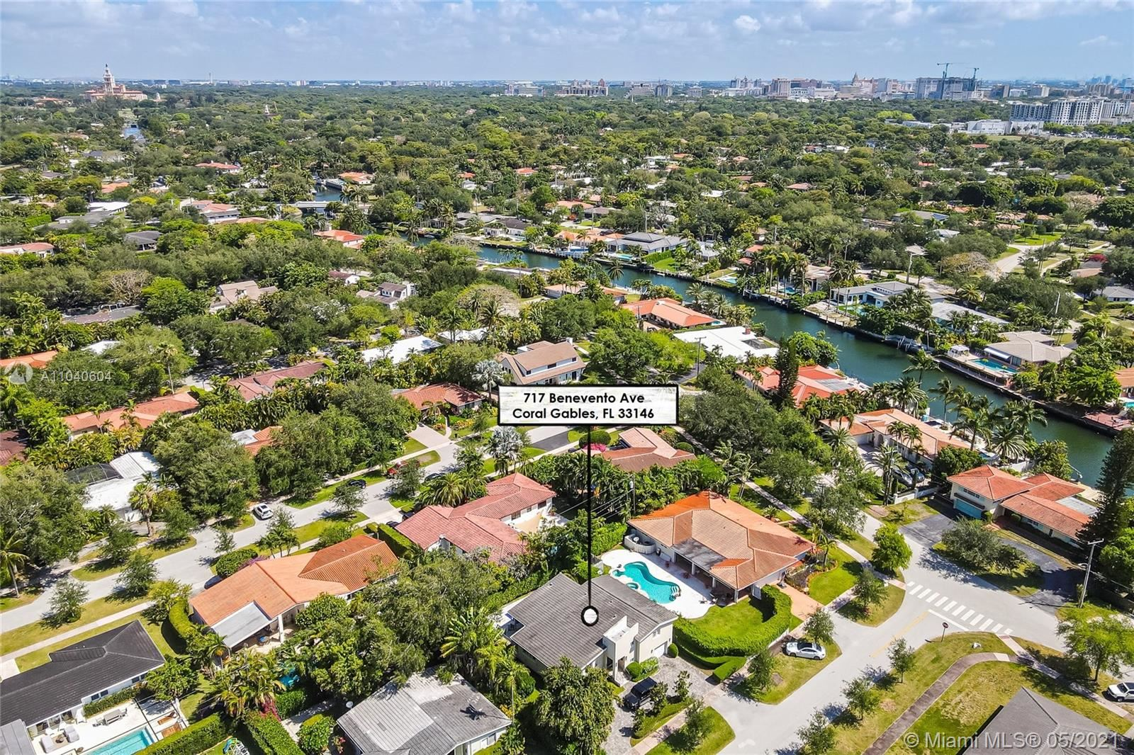 Photo of 717 Benevento Ave, Coral Gables, FL 33146 (MLS # A11040604)