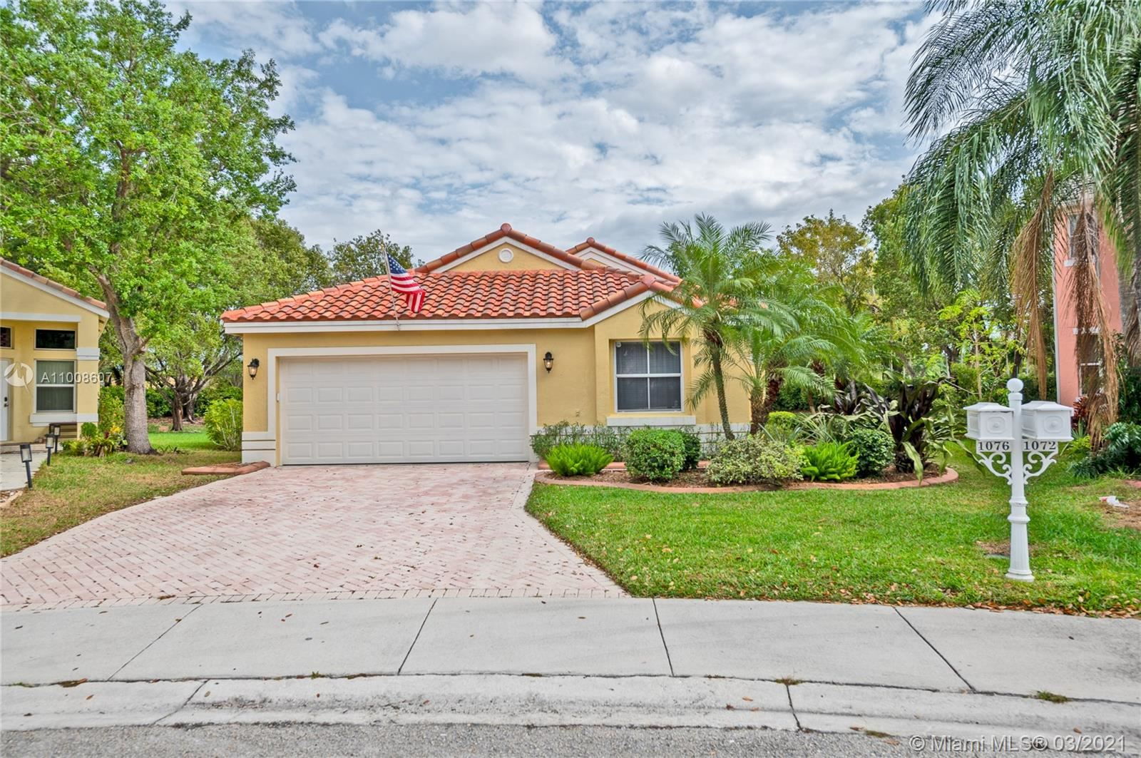 1076 Sequoia Ln, Weston, FL 33327 - #: A11008607