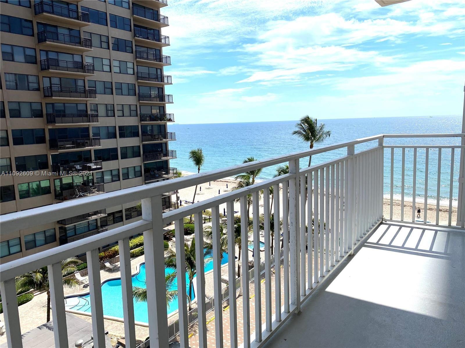 Photo of 3750 Galt Ocean Dr #610, Fort Lauderdale, FL 33308 (MLS # A11092609)