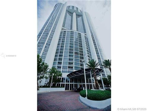 Photo of 18201 Collins Ave #1803, Sunny Isles Beach, FL 33160 (MLS # A10889610)