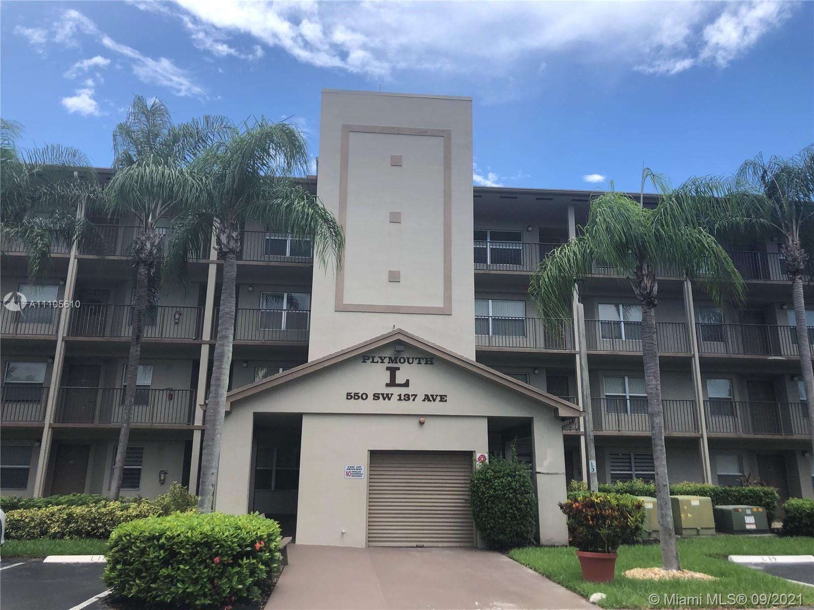 550 SW 137th Ave #408L, Pembroke Pines, FL 33027 - #: A11105610
