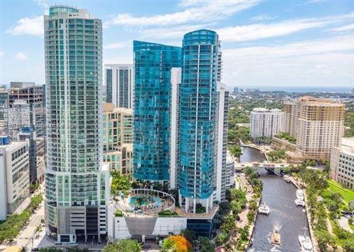 Photo of 333 Las Olas Way #2807, Fort Lauderdale, FL 33301 (MLS # A11071612)