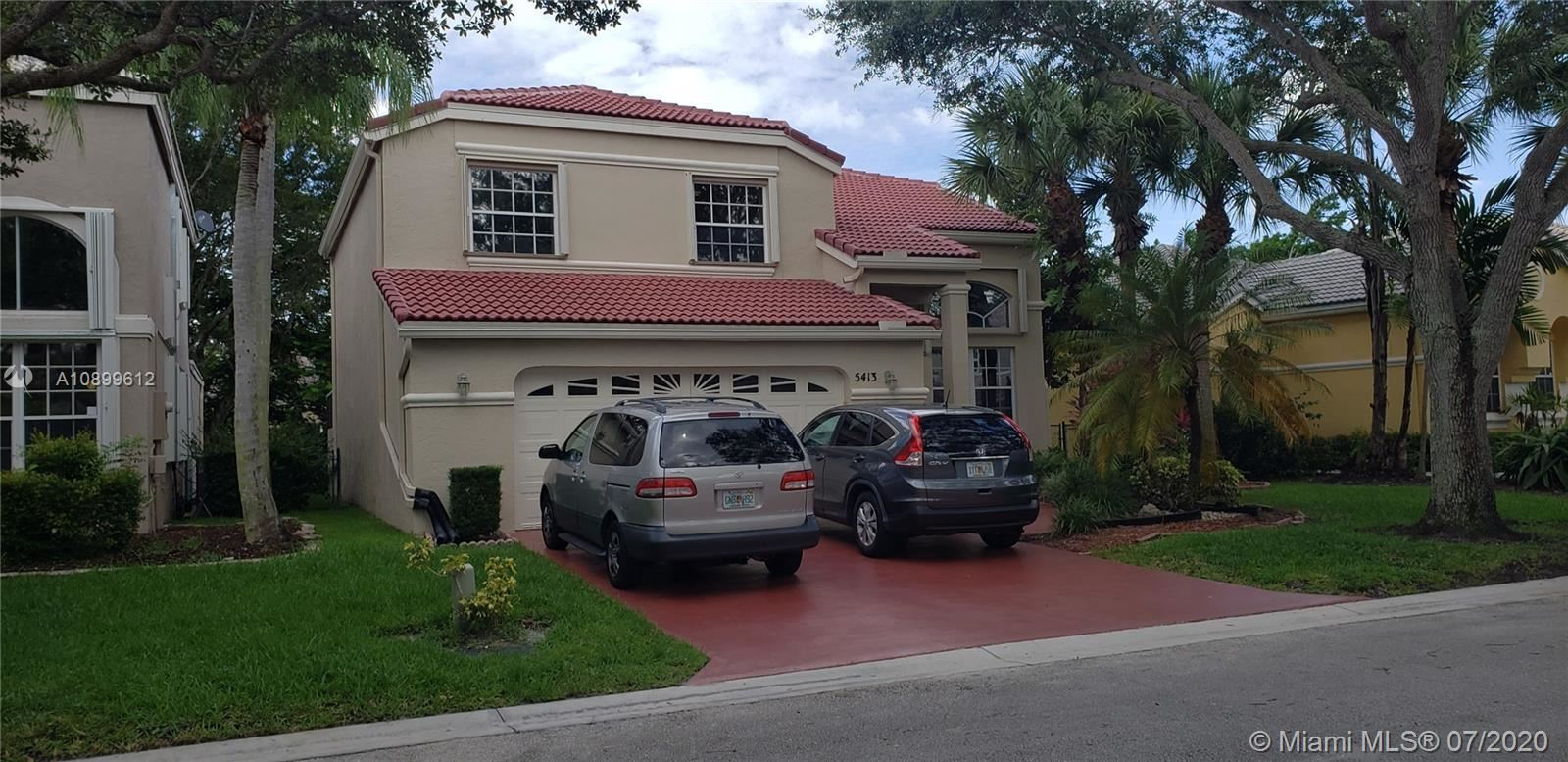5413 NW 106th Dr, Coral Springs, FL 33076 - #: A10899612