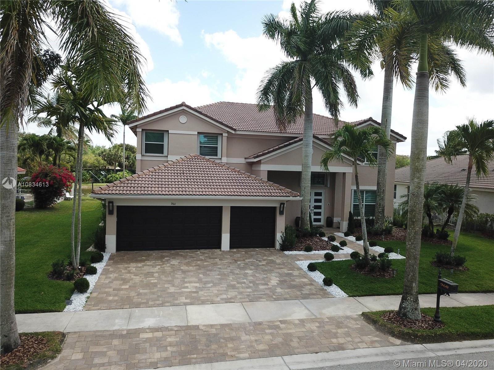 960 Windward Way, Weston, FL 33327 - #: A10834613