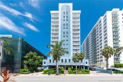 Photo of 6969 Collins Ave #1406, Miami Beach, FL 33141 (MLS # A11076615)