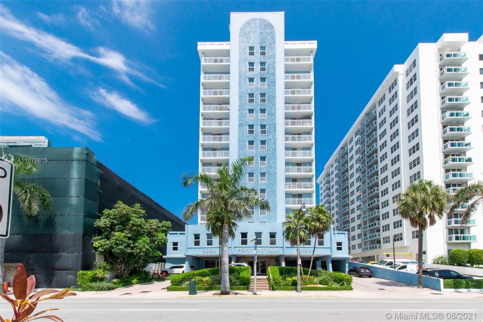 Photo for 6969 Collins Ave #1406, Miami Beach, FL 33141 (MLS # A11076615)