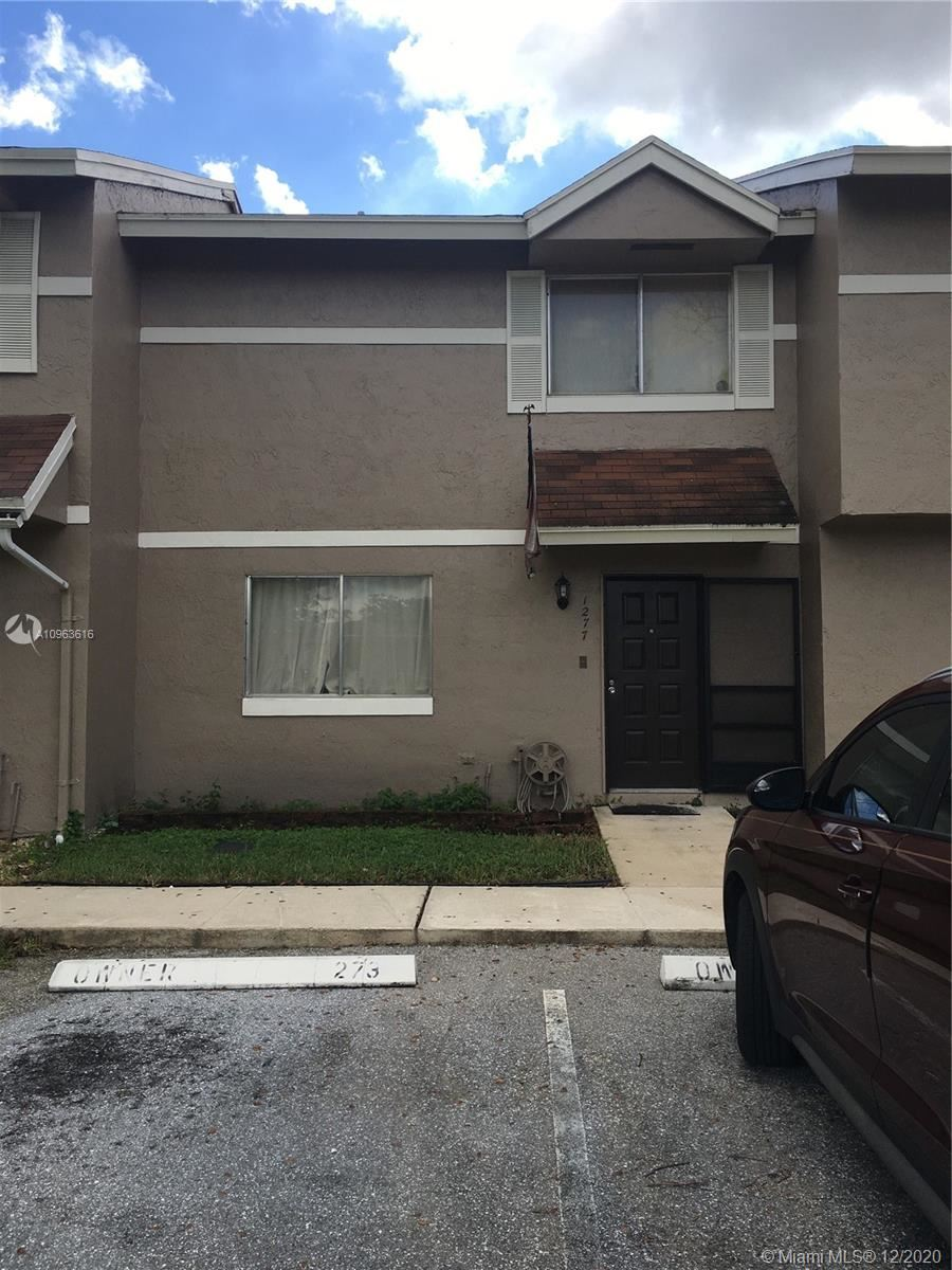 Photo of 1277 Sussex Dr #1277, North Lauderdale, FL 33068 (MLS # A10963616)