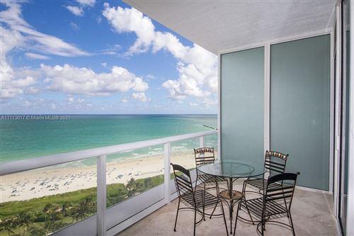 Photo of 100 S Pointe Dr #1807, Miami Beach, FL 33139 (MLS # A11113617)