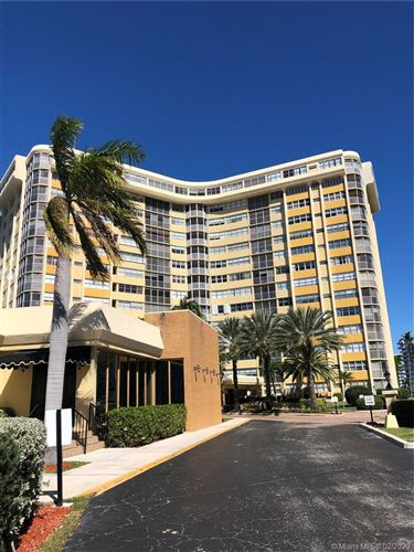 Photo of Listing MLS a10810618 in 100 Golden Isles Dr #710 Hallandale FL 33009