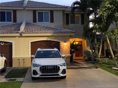 Photo of Listing MLS a10820618 in 7488 SW 164th Ct #7488 Miami FL 33193