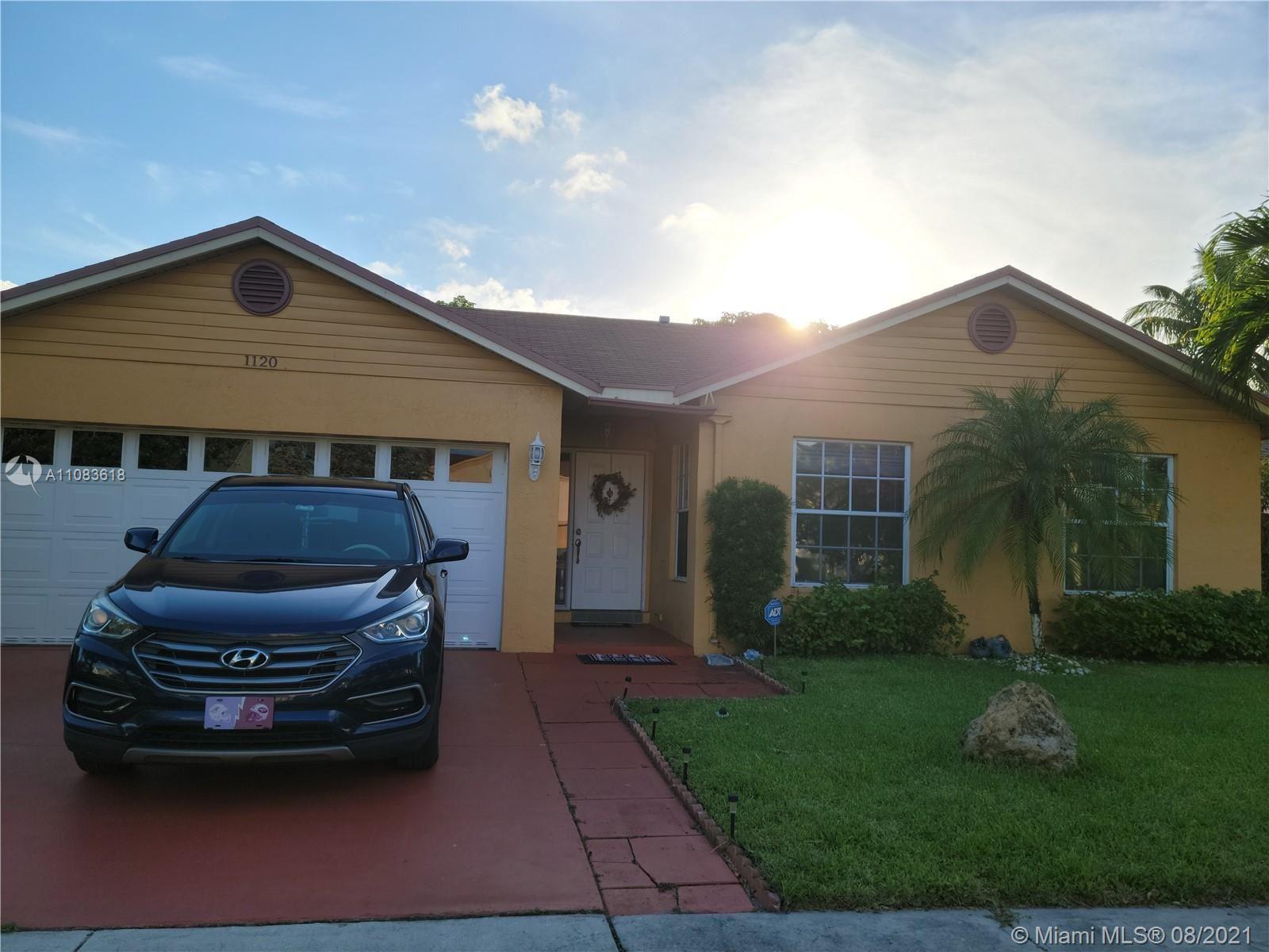 1120 SW 87th Way, Pembroke Pines, FL 33025 - #: A11083618
