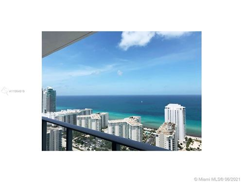 Photo of 4010 S Ocean Dr #R3205, Hollywood, FL 33019 (MLS # A11064619)
