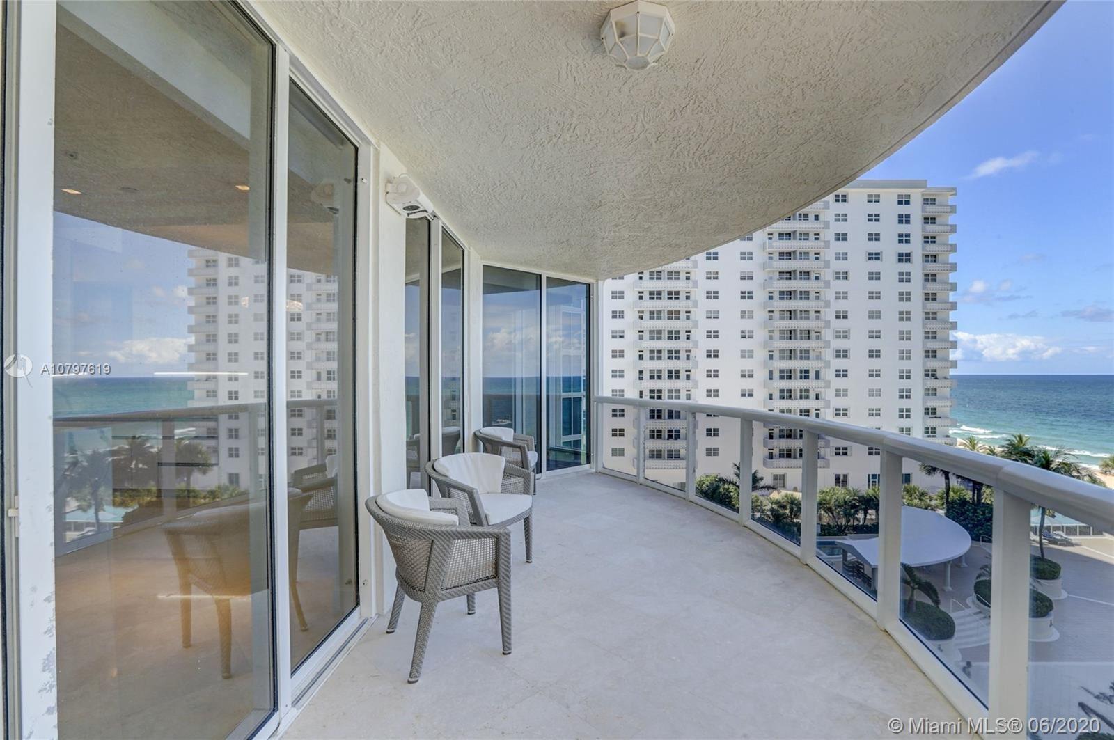Photo of 4240 Galt Ocean Dr #705, Fort Lauderdale, FL 33308 (MLS # A10797619)