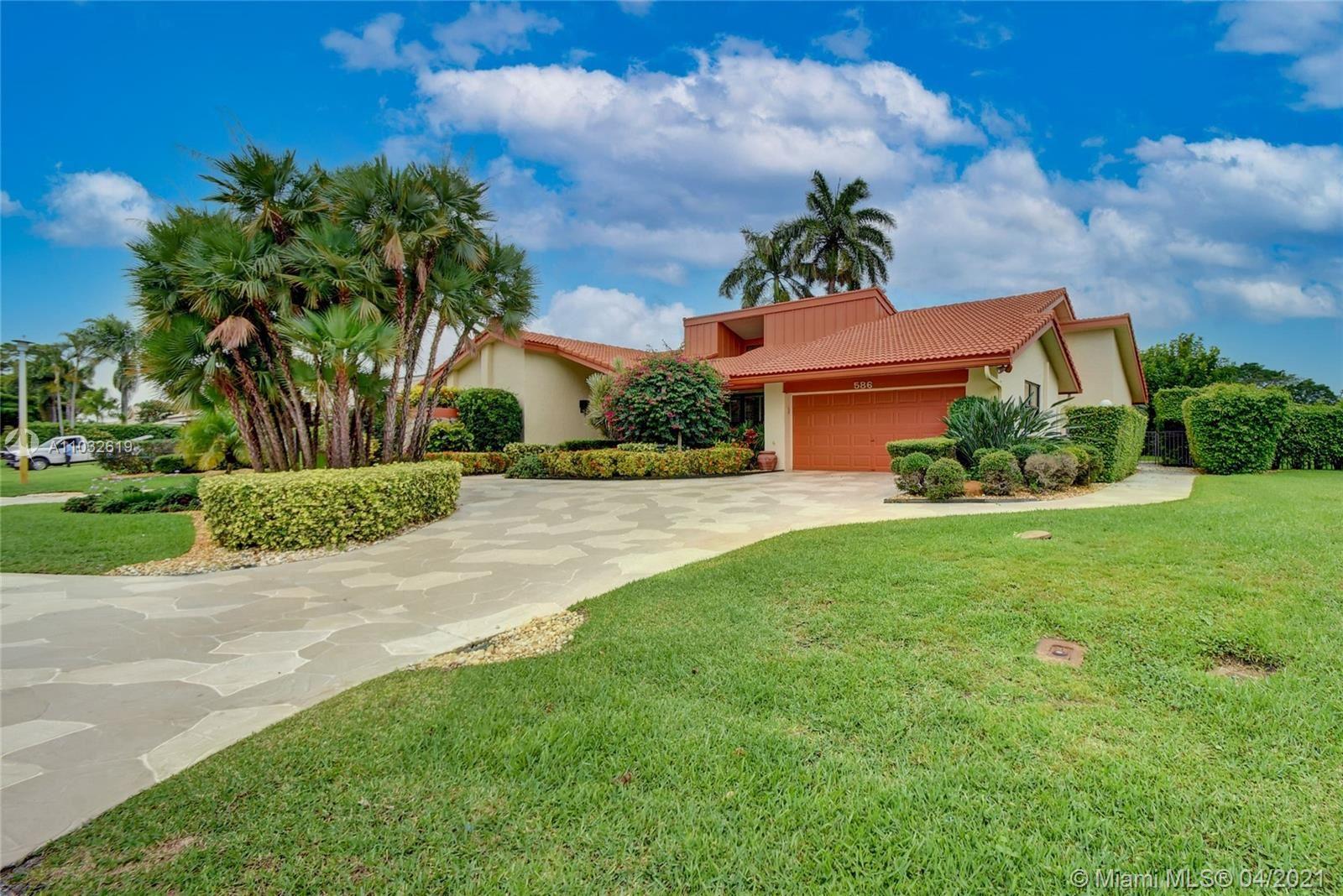 586 Pine Lake Dr, Delray Beach, FL 33445 - #: A11032619