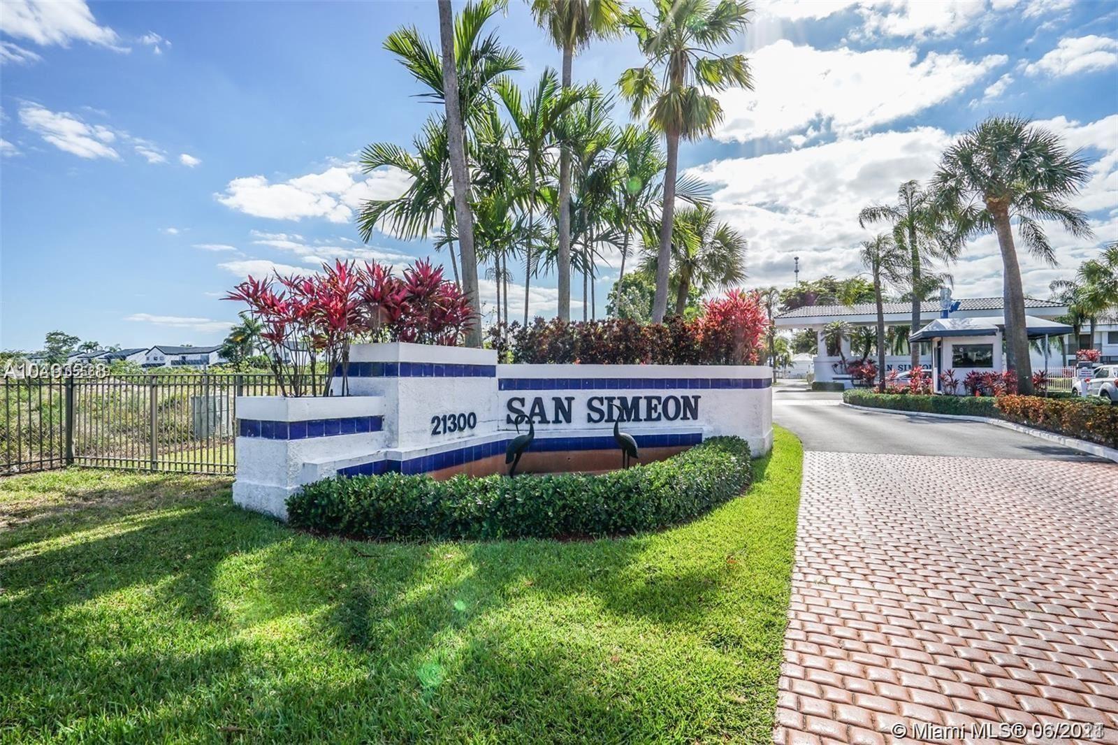 21300 San Simeon Way #N1, Miami, FL 33179 - #: A11055619