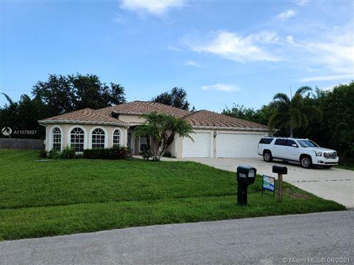 Photo of 4485 SW Masefield St #4485, Port Saint Lucie, FL 34953 (MLS # A11078627)
