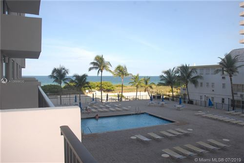 Photo of Listing MLS a10699630 in 9273 Collins Ave #202 Surfside FL 33154