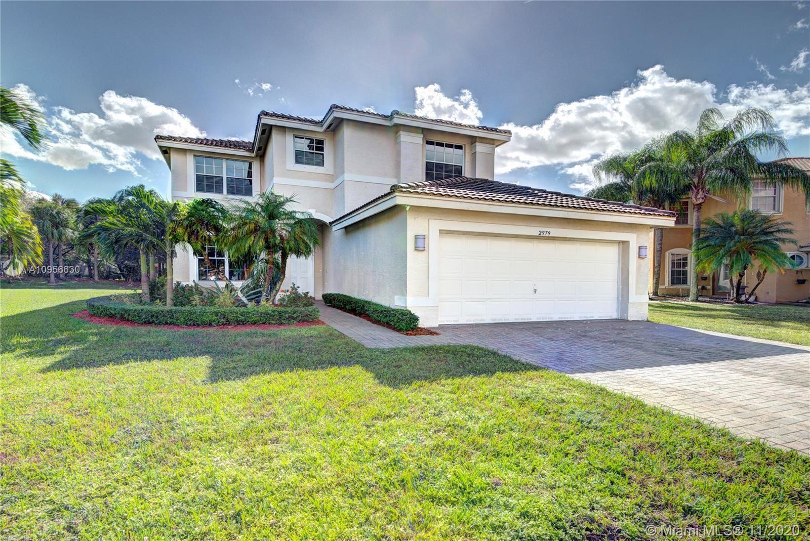 Photo of 2979 SW 161st Avenue, Miramar, FL 33027 (MLS # A10956630)