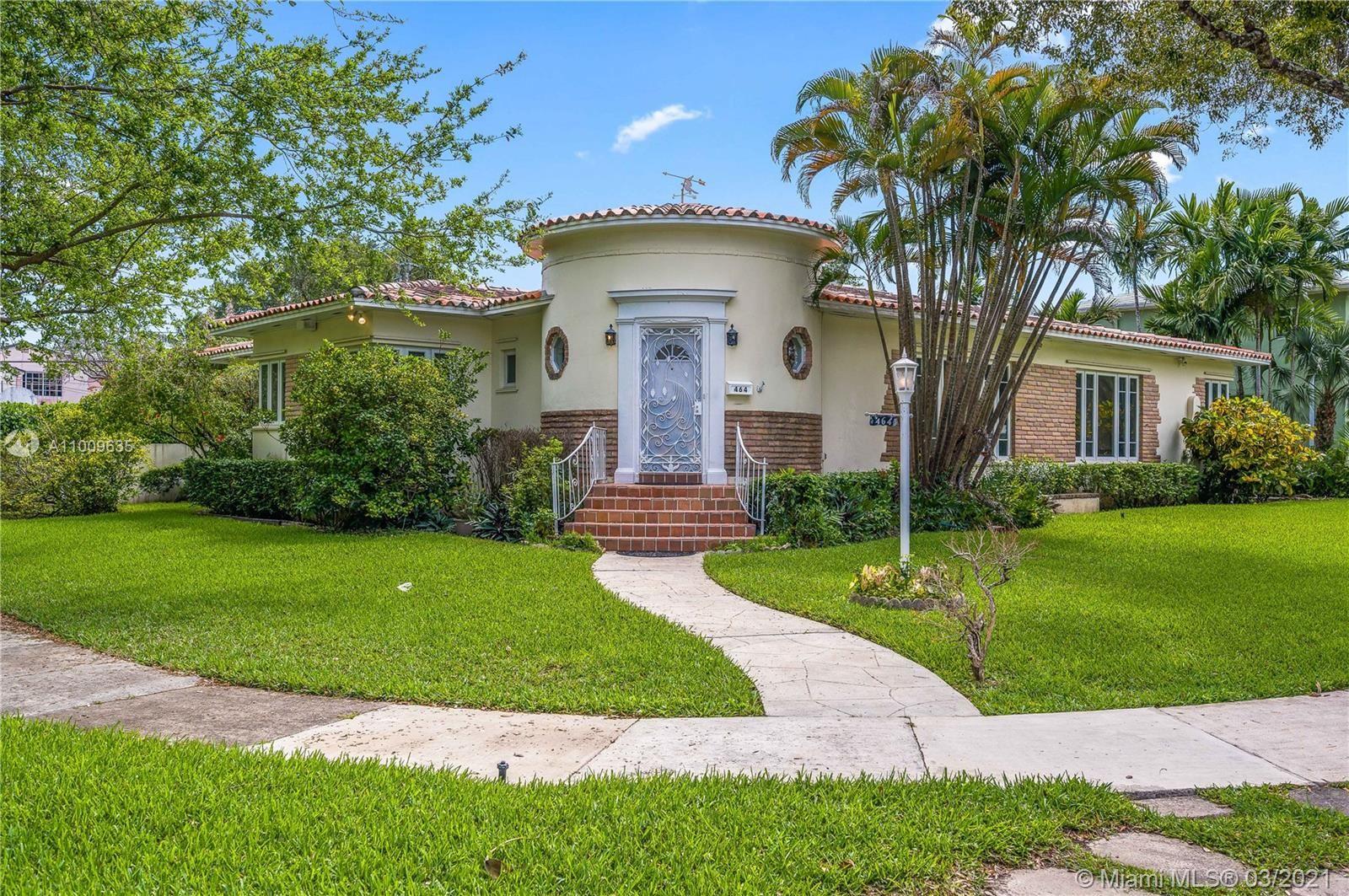 464 Grand Concourse, Miami Shores, FL 33138 - #: A11009635