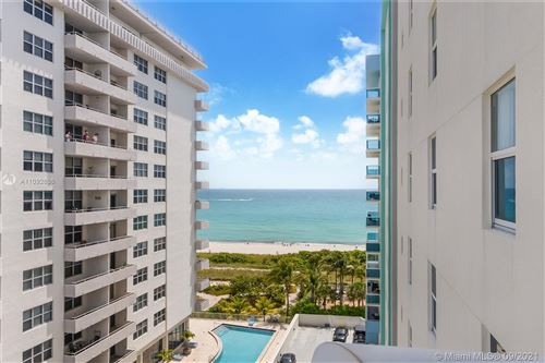 Photo of 9201 Collins Ave #821, Surfside, FL 33154 (MLS # A11092636)