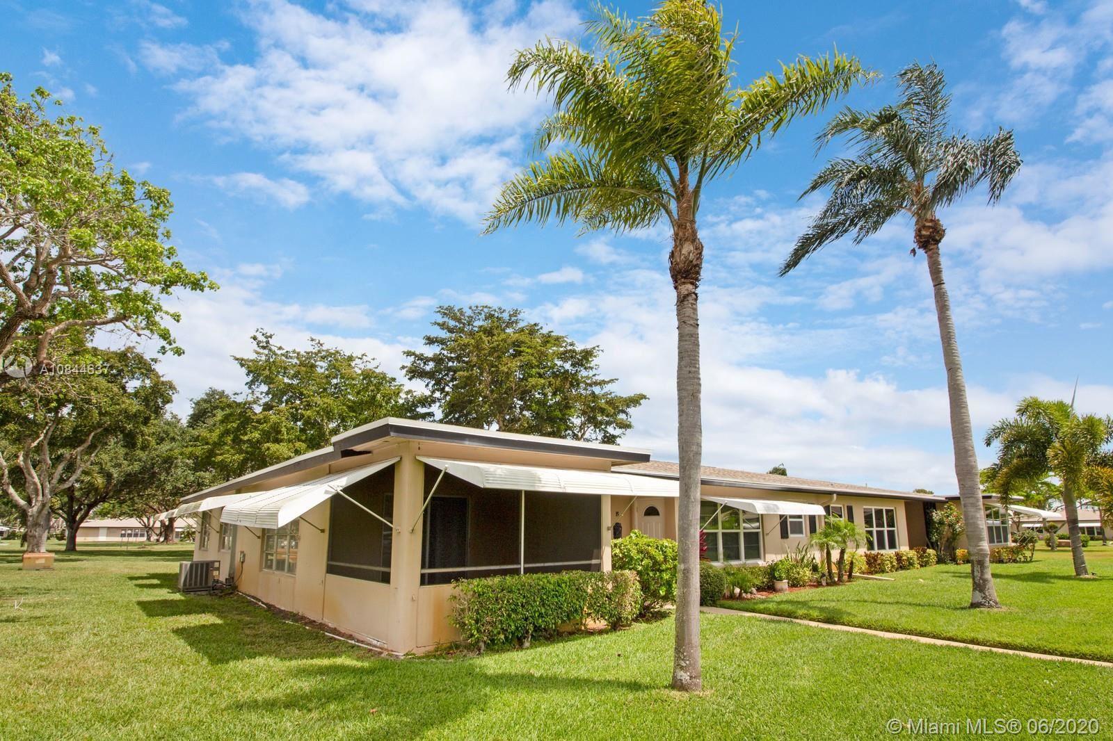 1027 South Dr #A, Delray Beach, FL 33445 - #: A10844637