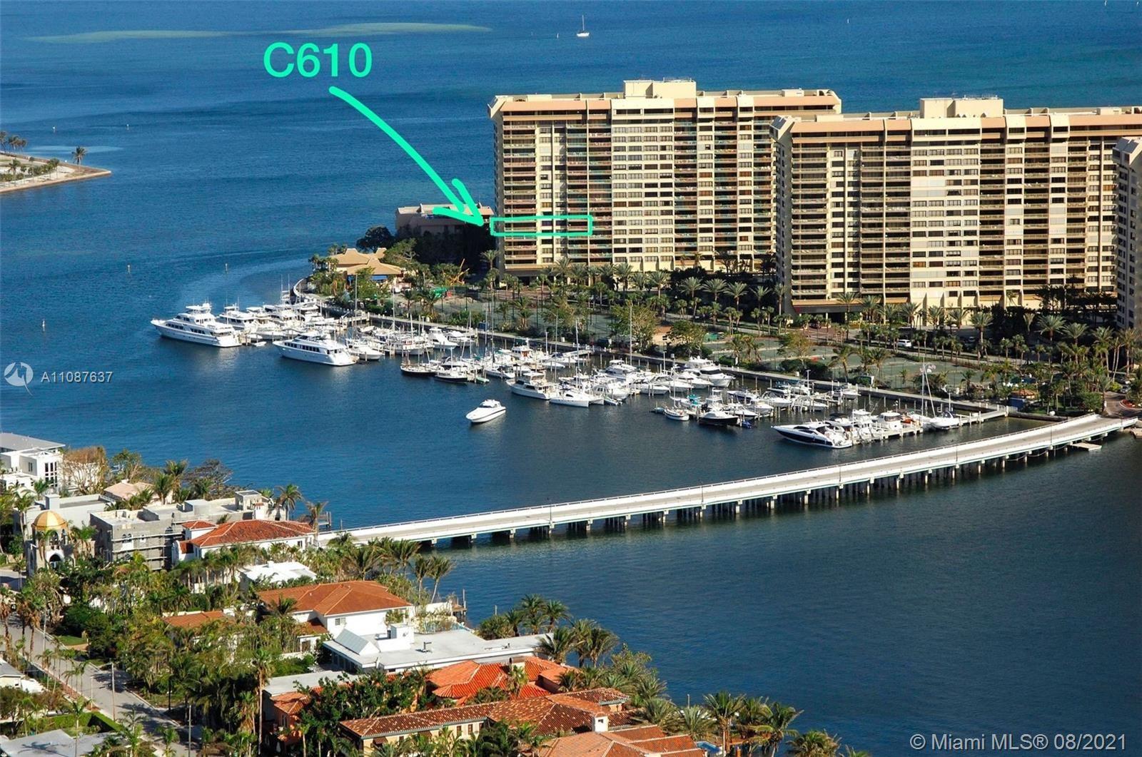 3 Grove Isle Dr #C610, Miami, FL 33133 - #: A11087637